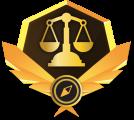 Médaille de la justice